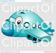 clipart cute happy blue passenger airplane royalty free vector