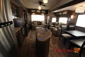 river kitchen island forest river salem hemisphere fifth wheel affordable and of