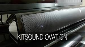 amazon black friday soundbars kitsound ovation soundbar tv speaker review youtube