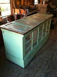 kitchen island used kitchen island made from doors and windows we could used