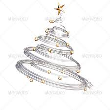 spiral christmas tree silver spiral christmas tree by kjpargeter graphicriver
