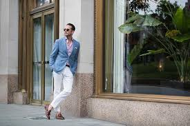 lights you can wear classic summer style white chinos he spoke style