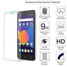 Amado 9H Tempered Glass For Alcatel One Touch Pixi 4 3.5