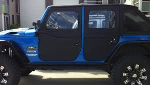 jeep half hardtop supertop front lower half doors for bestop and factory tops in