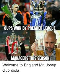 cups won by premier league arkham managers this seasonhe welcome to