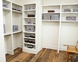 organize home closet shelving units wood
