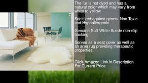 non toxic area rugs genuine australian sheepskin rug four pelt ivory fur quarto youtube
