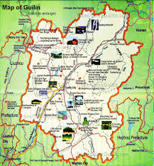 map attractions guilin maps attractions streets