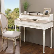 White Writing Desk With Hutch by Safavieh Watkins White Desk Fox2205a The Home Depot