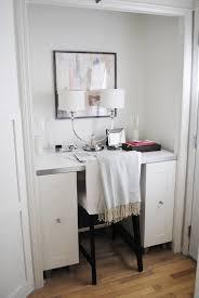 Used Ikea Cabinets Closet Desk Transitional Den Library Office Flourish Design
