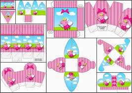 peppa pig fairy free printable boxes birthday