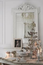 french nordic christmas decorations in silver and white it u0027s