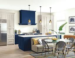 sherwin williams navy blue kitchen cabinets sherwin williams color of the year has us feeling blue