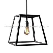 Black Iron Pendant Light Pendant Light American Industrial Glass Metal Black Global Sources