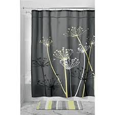 Shower Curtain Washing Machine Amazon Com Interdesign Thistle Shower Curtain U2013 Machine Washable