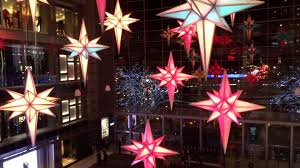 new york christmas 2015 shops at columbus circle light show youtube