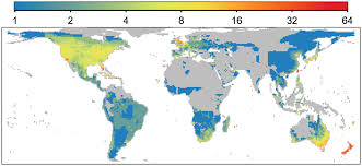 Types Of World Maps by The Global Distribution And Drivers Of Alien Bird Species Richness