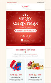 38 christmas email newsletter templates free psd eps ai html