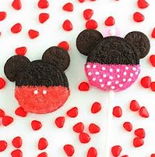 minnie mickey mouse oreo cookie pops cooking classy
