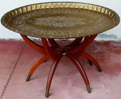 Brass Tray Table Moroccan Brass Tray Table Photo 11 Beautiful Pictures Of Design