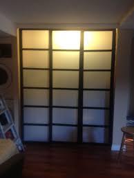 Bypass Closet Doors Shoji Style Sliding Closet Doors From Scratch 7 Steps
