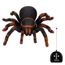 gift halloween radio control rc simulation furry tarantula electronic spider toy