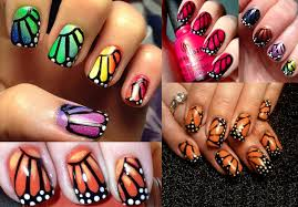 pictures diy butterfly nail monarch butterfly wings nail