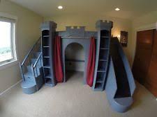 Bunk Bed Castle Castle Bed Bedroom Furniture Ebay