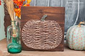 9 diy fall string art pieces to make right now shelterness