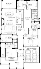 New Ranch Style House Plans by The New Hampton Four Bed Hampton Style Home Design Plunkett