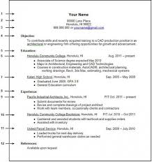 Example For A Resume by Good Student Resume Example Of High Student Resume Resume