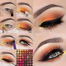 colorful eyeshadow tutorials for blue eyes