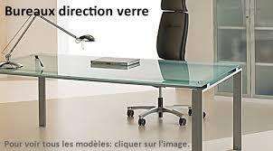 bureaux verre mobilier de bureau design