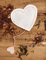 heart shaped tea bags diy tutorial s heart shaped tea bags weddbook
