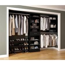 freestanding wood closet systems wood closet organizers the