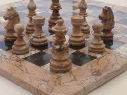 theme chess sets chessbaron marina and boticini black marble ches