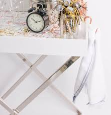 The Foundry Home Goods by Bits Tips A Chic And Easy Nye Bar Cart U2014 Style Architects