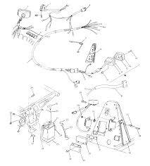 1992 polaris 250 trail boss 4x4 w928127 wiring harness 250 4x4