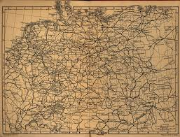 Map Og Germany by Railway Map Of Germany 1910