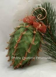 lifetime fabric pine cone ornaments pinecone ornament and pine cone