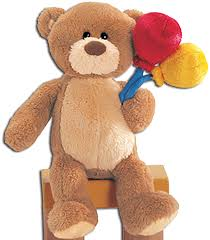 teddy bears in balloons cuddly collectibles teddy bears by gund