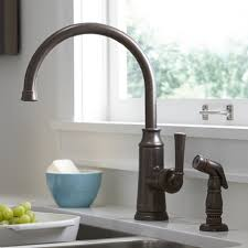 high arch kitchen faucet the fixture gallery american standard portsmouth high arc kitchen