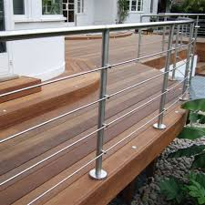 stainless steel handrail railing and balustrade systems