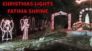 festival of lights springfield ma fatima shrine christmas lights holliston ma youtube