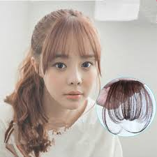 hair extensions for thinning bangs new fashion natural thin mini bang clip in on real remy hair bangs