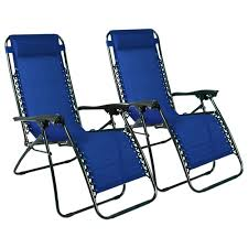 Zero Gravity Patio Lounge Chairs 2pcs Folding Zero Gravity Reclining Lounge Chairs Outdoor Beach