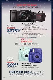 best buy mirrorless camera black friday deals best buy pre black friday vip sale flyer november 24