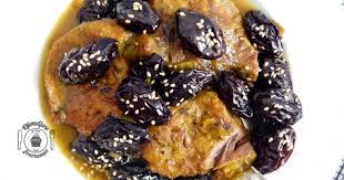 cuisiner les pruneaux tajine de veau aux pruneaux recette par djoudjou