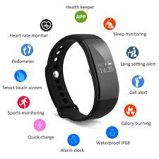 heart rate calorie bracelet images Bluetooth 4 0 diggro v66 heart rate calorie sleep monitor smart jpg
