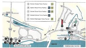 Map Of Arkansas State Parks by Park Map Washington Crossing Historic Park